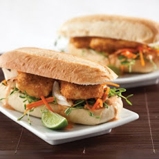 General Tso's Fried Tofu Sub