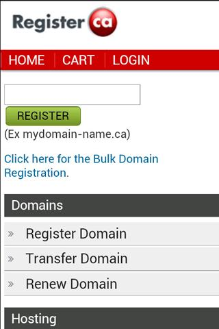 Register.ca Mobile
