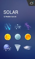 Screenshot of Solar 3D Weather HD - Iconset