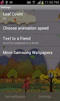 Screenshot of Samsung Parallax Fall