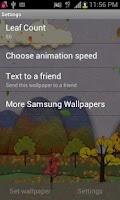Screenshot of Samsung Parallax Fall