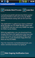 Screenshot of Cache Download to SD (root)