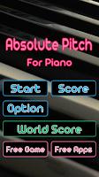 Screenshot of Perfect Pitch Piano Music