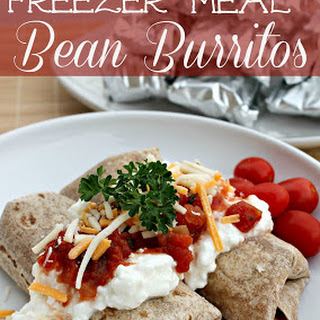 Slow Cooker Bean Burritos