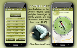 Screenshot of Prayer Times