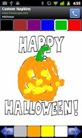 Screenshot of Coloring For Tots Halloween