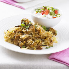 Low-fat Chicken Biryani