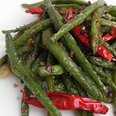 Szechuan Dry Fried Green Beans