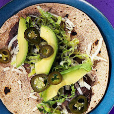 Black Bean and Cheese Tacos