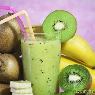 Incredible Green Smoothie for Cleansing of the Body from Toxins