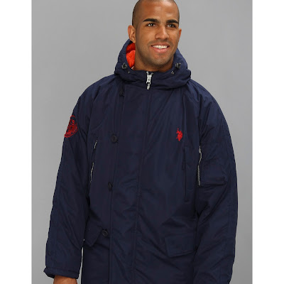 U.S. Polo Assn - Long Snorkel Jacket (Classic Navy) - Apparel