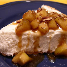 Decadent Cheesecake With Maple Applesauce
