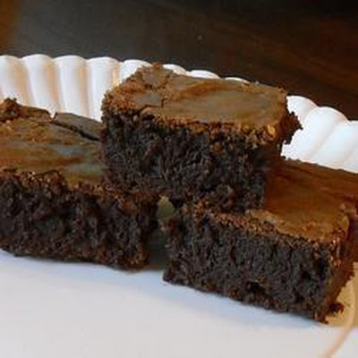 Soft And Chewy Fudge Brownies