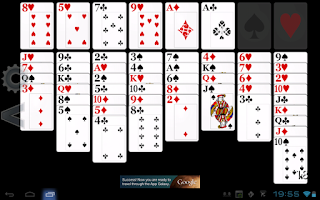 Screenshot of FreeCell Solitaire HD