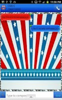 Screenshot of GO SMS - Fourth July Owl