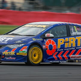 Andrew Jordan by Jonathan Henchman - Sports & Fitness Motorsports ( auto racing, btcc, circuit, motion, touring car, motorsport, silverstone )