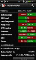 Screenshot of Battery Stats Plus
