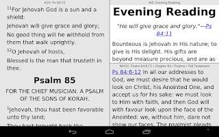 Screenshot of PocketBible Bible Study