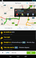 Screenshot of CoPilot Premium South Africa