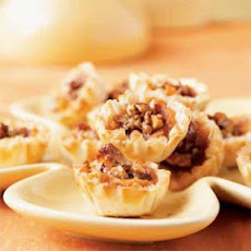 Harvest Sweet Potato Pecan Pie Tarts