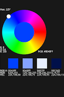 Screenshot of ColorWheel