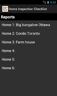 Home Inspection Vancouver App - screenshot