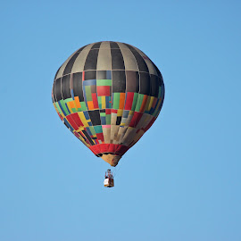 Hot Air Balloon by Dirk Luus - Transportation Other ( sky, fly, hot, air, balloon )