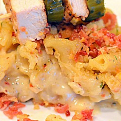 Carbonara Mac 'n Cheese Souffle Recipe | Yummly