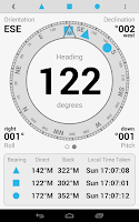 Screenshot of Field Compass Plus