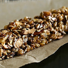 Healthy Banana Chocolate Granola Bars