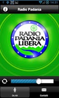 Screenshot of Radio Padania Libera