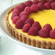 Creamy Lemon Tart with Nut Crust