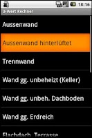 Screenshot of U-Wert Rechner Lite