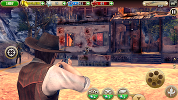 Screenshot of Six-Guns