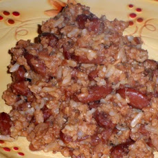Red Beans & Rice With Tvp