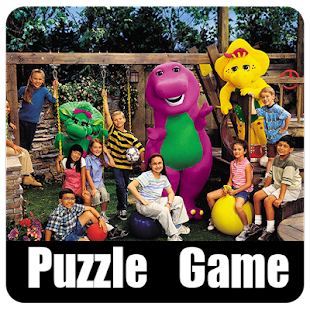 BARNEY AND FRIENDS PUZZLE - screenshot