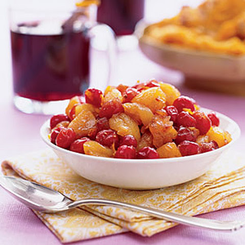Cranberry-and-Apricot Chutney