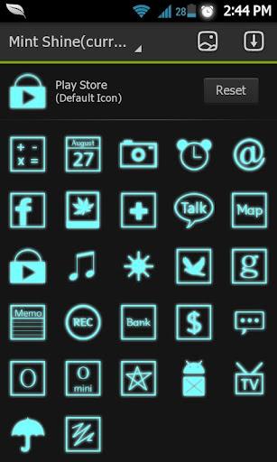 閃耀主題薄荷:啟動|玩個人化App免費|玩APPs
