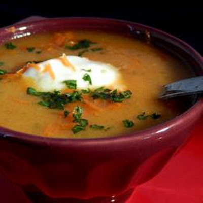 Carrot Soup Indienne I