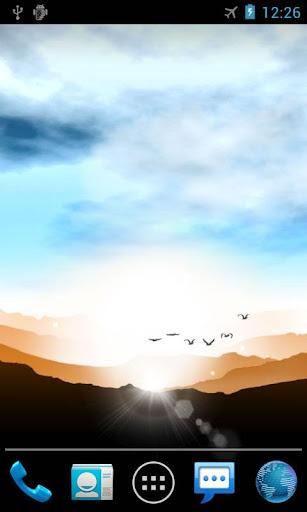 日の出ライブ壁紙 Sunrise