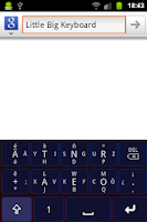 Screenshot of Little Big Keyboard