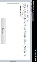 Screenshot of Plus.net Mobile