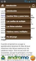 Screenshot of Consejos para Apalabrados