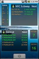 Screenshot of NYC Subway Time all Train Line