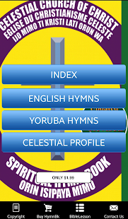 CCC HymnBook - screenshot