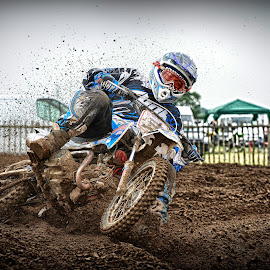 Speedway Style by Chris Richards - Sports & Fitness Motorsports ( motorbike, motocross, moto, sports, motorcycle )