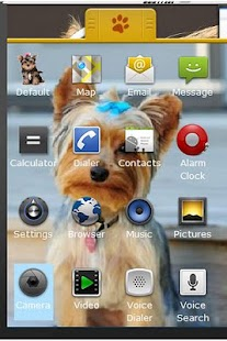 Yorkshire Terrier Theme - screenshot