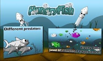 Screenshot of Hungry Fish