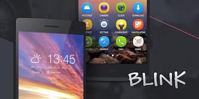 Screenshot of Blink GO Launcher Theme