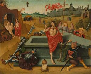 RIJKS: circle of Meester van de Amsterdamse Dood van Maria: painting 1500